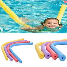 Safe Rehabilitation Learn Swimming Pool Noodle Water Float Aid Woggle Swim SEAU