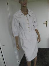 Apriori   - Traum- Kostüm Gr. 38/40  beige / weiß gestreift