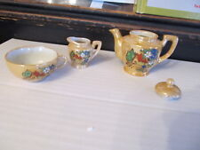 Vintage tea set cup pot creamer Made in Occupied Japan