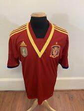 SPAIN NATIONAL TEAM 2010 HOME FOOTBALL SOCCER SHIRT JERSEY CAMISETA ADIDAS XL