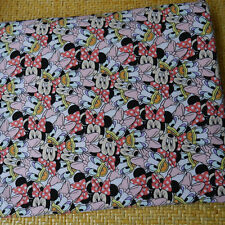 Minnie & Daisy Cotton knit Fabric for DIY Cloth Bedset Pillow 50x150cm