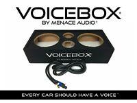 "VOICEBOX® BY MENACE AUDIO® Midrange Speaker Box - Dual 10"""