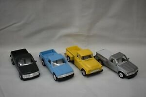 Unbranded 1:64 4 Chevy Pickups