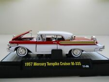 M2 MACHINES - AUTO-THENTICS - CLASS OF 1957 MERCURY TURNPIKE CRUISER M-355 1/64
