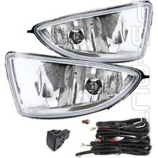 For 2004 2005 Honda Civic Coupe Sedan 2/4Dr Clear Fog Lights with Switch w/Bulbs