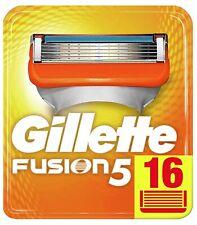 16 Gillette Fusion Rasierklingen / Klingen 16 Stück Neu
