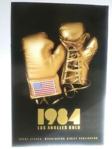 1984 olympic poster American Gold Gloves Los Angeles unreleased poster 3'x2'