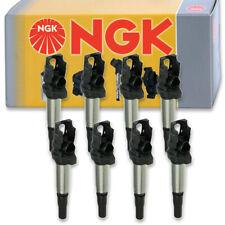 8 pcs NGK Ignition Coil for 2004-2005 BMW 545i 4.4L V8 - Spark Plug Tune Up hu