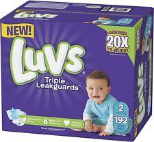 Luvs Triple Leakguards Diapers Size 2 (192 Count)
