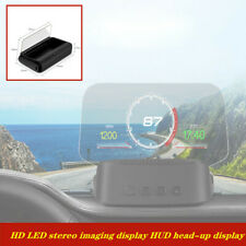 Car OBD2 multi-function speed water temperature no ghosting HUD projector C100