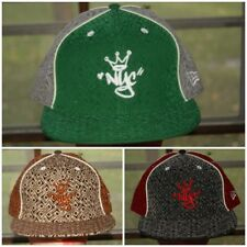 New Era King of New York City Fitted Hat 7 1/4 3/8 7/8 Green Brown Gray