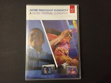 Adobe Photoshop Elements 9 & Adobe Premiere Elements 9 PC Mac CD-KEY