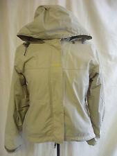 Ladies Coat - Helly Hensen, size XS, beige/grey, hooded, outdoor, used - 1900