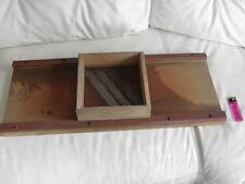 CABBAGE CUTTER silvretta Sauerkraut Antique old tool folk Kitchen Utensil Wood
