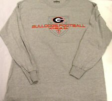 Espn Athens Georgia Bulldogs Football Long Sleeve T-Shirt Tee Large New