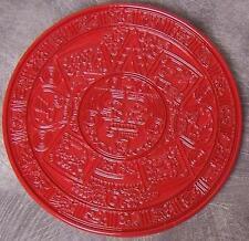 Metal Belt Buckle International Aztec Mayan Calendar NEW