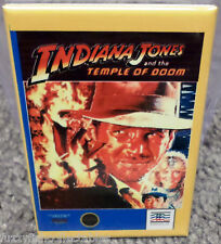 "Indiana Jones Temple Nintendo NES Vintage Game Box  2""x3"" Fridge Locker MAGNET"