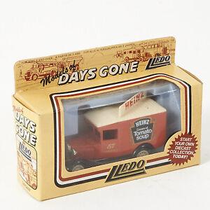 LLEDO DAYS GONE BY DG13 - 1930  FORD MODEL A VAN - HEINZ TOMATO SOUP