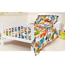 Cotbed Junior Duvet Cover Set Born Free Children's Kids Toddler Cot Bed Bedding