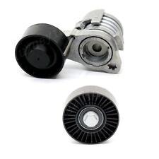 2Pcs Belt Tensioner Assembly&Pulley Kit For 2006-13 BMW 128i 323i 328i 528i X3/5