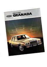 1982 Ford GRANADA Brochure/Catalog/Pamphlet with Spec's: L,GL,GLX,Station Wagon