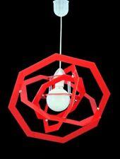 Lampadario Moderno Sospensione VARI COLORI Plexiglass Camera Cameretta Design 1L