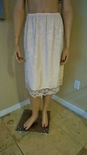 Incredible vintage half-slip no manufactures tag sensual Light Pink size M
