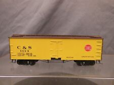HO SCALE WOOD REEFER COLORADO & SOUTHERN