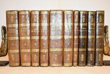 SAN TOMMASO D'AQUINO SUMMA TEOLOGICA 10 volumi '800 + Indici e Opuscoli Teologia