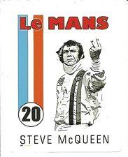 STEVE MCQUEEN LE MANS MOVIE  Sticker Decal
