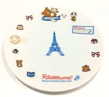 "Japan Import New Rilakkuma ""Bonjour Rilakkuma Air Lines"" Ceramic Plate"