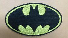Vintage Original Batman Mini  Logo Rare Embroidery Patch Unused