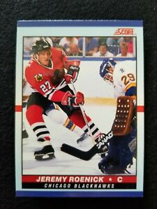 JEREMY ROENICK 1990 Score Young Superstars #24 Chicago Blackhawks