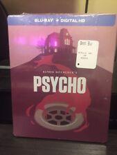 Psycho (Blu-ray Disc, 2014, Steelbok Edition + Digital HD... Brand New