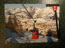 AURON STATION TELEPHERIQUE 1970 carte postale postcard