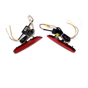 LED Brake Light Turn Signal DRL for Infiniti Nissan X-trail Rouge Qashqai Altima
