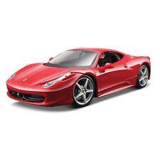 FERRARI 458 ITALIA 1:24 Scale Diecast Car Model Die Cast Cars Models Red
