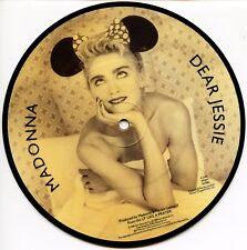 "MADONNA ""Dear Jessie"" Picture Disc 45 RPM Record MINT"