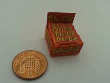 1/12 Scale - Box of Toffee Crisps Sweets for Dollshouse Miniatures