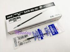 10 x Uni-Ball Jetstream SXR-80-38 Ultra Fine Ballpoint Pen Refills, BLUE