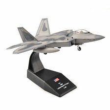 AMER 1/100th USA 2005 lockheed Martin F-22 Raptor Diecast Fighter Model Toy