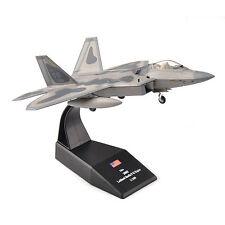 AMER 1/100th USA 2005 lockheed Martin F-22 Raptor Diecast Fighter Model Toy