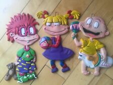Rugrats Wall Plaque Lot Vintage Wall Hanging