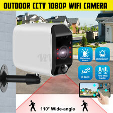 1080P HD WiFi IP Camera Wireless Outdoor CCTV Home Security Cam Night Vision US