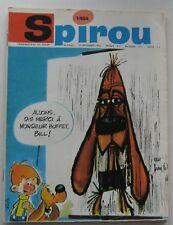 JOURNAL SPIROU N°1484 LUCKY LUKE/TIF et TONDU avec MINI-RECIT 1966 BON ETAT