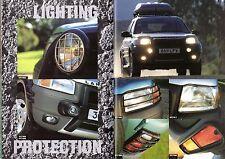 Land Rover Freelander Accessories 1997-98 UK Market Sales Brochure