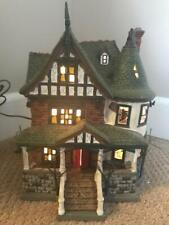 Department 56 Halloween Gravely Estate #805674 Interior Flying Witch (Read Desc)