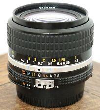 Nikon 24mm f/2.8 AiS Manual Focus Wide Angle Prime Lens