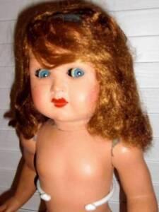 """Giachetti ~ RARE Vintage Celluloid Type 20"""" Italy Doll"""