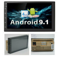 "Android 9.1 Universal 2 Din 7"" Car Stereo Radio GPS Wifi Touch Screen Quad-Core"